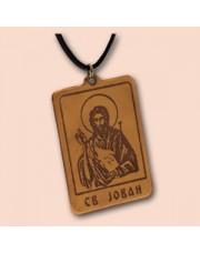 Ikonica Sv. Jovan - Krstitelj ogrlica