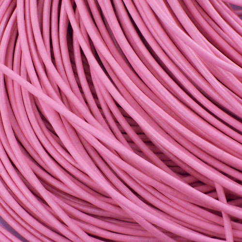 Kožna traka okruglog prečnika roza 2,50 mm - 5 m/pak
