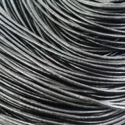 Kožna traka okruglog prečnika crna 2mm - 5 m/pak