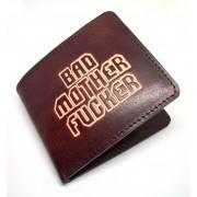 Muški kožni novčanik Bad Mother Fucker - ručni rad