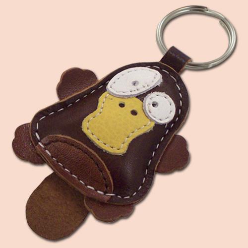 Kljunar / Platypus kožni privesak za ključeve