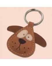 Pas kožni privesak za ključeve