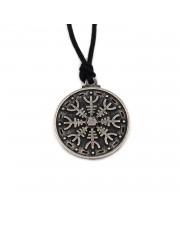 Aegishjalmur Vikinški simbol zaštite - Livena ogrlica