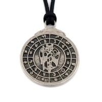 Aion - vladar zodijaka, planeta i vremena - livena ogrlica
