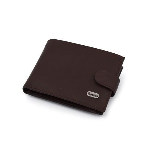 Muški kožni novčanik - Model 129 Boja čokolade