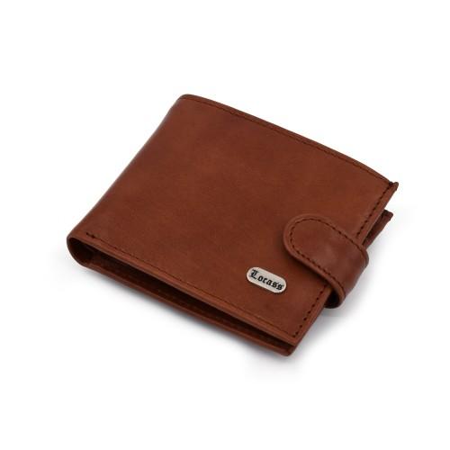 Muški kožni novčanik - Model 157 Viski boje