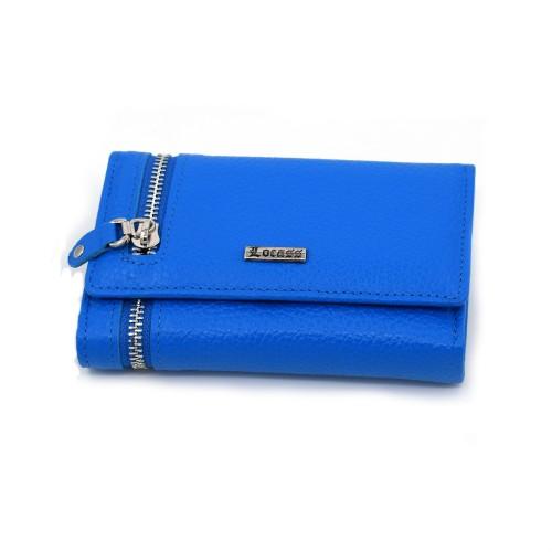 Ženski kožni novčanik - Model 236 Svetlo plava