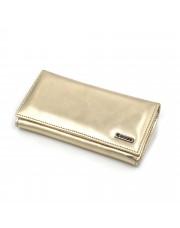 Ženski kožni novčanik - Model 162 Zlatna