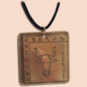 Medaljon Bik Kvadratni