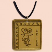 Medaljon Ovan Kvadratni