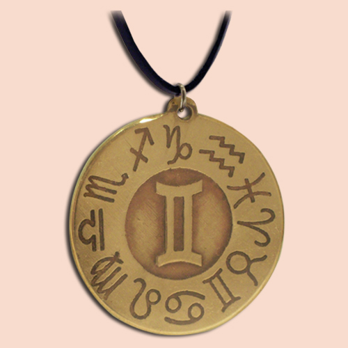 Medaljon sa simbolom Blizanaca