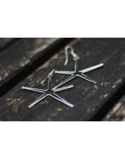 Minđuše od žice u obliku zvezde SE311