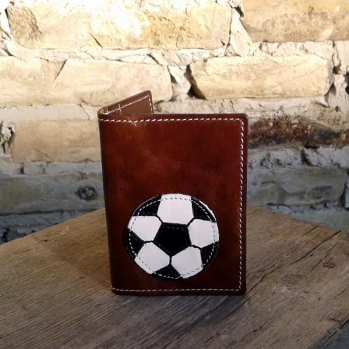 Novčanik za kreditne kartice sa 4 džepa sa fudbalskom loptom