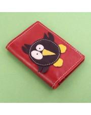 Novčanik za kreditne kartice sa 4 džepa sa ptičicom