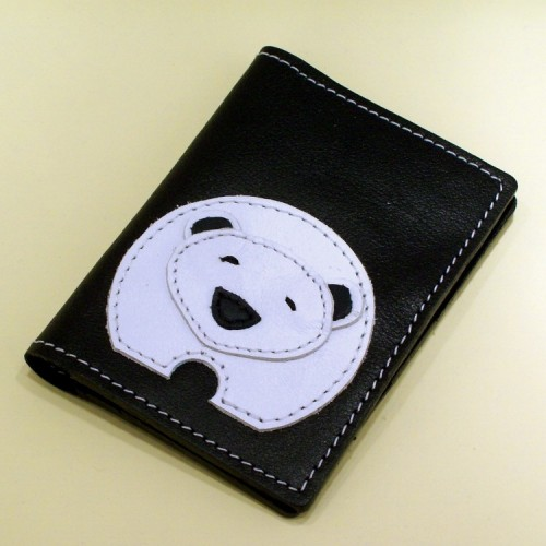 Novčanik za kreditne kartice sa 4 džepa sa belim medvedom