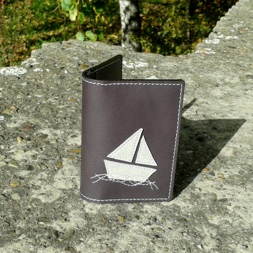 Novčanik za kreditne kartice sa 4 džepa sa brodićem