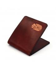 Grb Srbije - muški kožni novčanik  - ručni rad