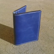 Novčanik za kreditne kartice sa 4 džepa - plavi