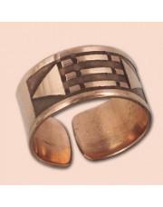 Luxor prsten 8 mm - bakar