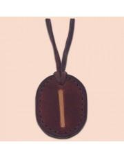 Kožna ogrlica runa amulet Isa