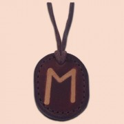 Kožna ogrlica runa amulet Ehwaz