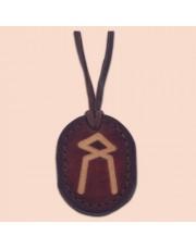 Kožna ogrlica runa amulet Othila