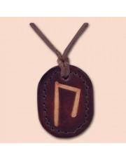 Kožna ogrlica runa amulet Uruz